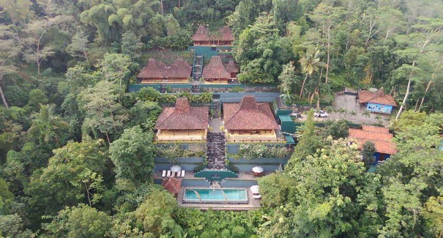 Villa Borobudur Java